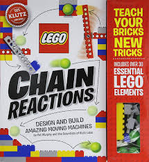 amazon com klutz lego chain reactions craft kit pat murphy and