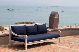 B M Garden Furniture Amazon Com Safavieh Outdoor Collection Pasadena Antiqued White