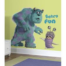 RoomMates Monsters Inc Giant Sully & Boo Peel & Stick Wall Decals