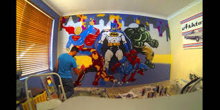 Toddler Superhero Bedroom Toddler Superhero Bedroom Name Vinyl Wall Decal Bedroom Nursery