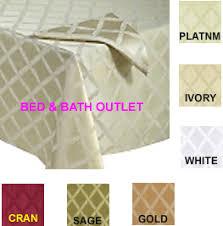 lenox laurel leaf tablecloth by bardwil linens