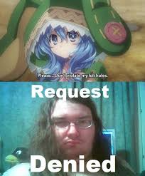 Denied Meme - request denied know your meme