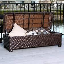 outdoor storage ottoman bench brilliant outdoor storage ottoman