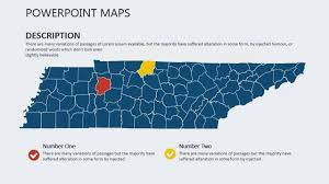 Map Of Tennesse Tennessee Usa Powerpoint Maps Youtube