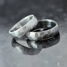 Wedding Ring Hand by Custom Wedding Ring Women Or Men Ring Hand Forged Stainless