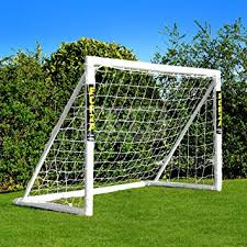 amazon com forza soccer goal 12x6 the ultimate home soccer