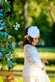 white lace dress white flower dress flower dress