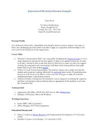 Resume For Human Resources Resume For Paralegal With No Experience Free Resume Example And