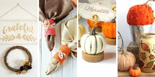 dollar store thanksgiving crafts