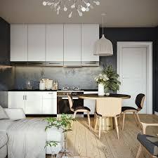wooden chandelier tall cabinet hardwood floor dining chair kitchen
