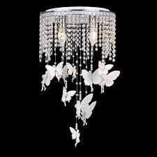 girls room light fixture white crystal angel girls room ceiling ls romantic kids bedroom