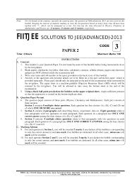 fiitjee paper 2