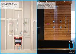moen u shower smart home connected bathroom controller 4 outlet moen u shower smart home connected bathroom controller 4 outlet digital wall mounted ts3304tb amazon com