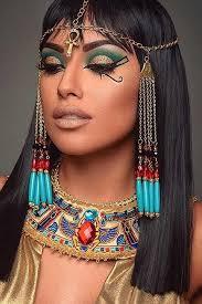 Exotic Halloween Costumes 25 Egyptian Makeup Ideas Cleopatra Makeup