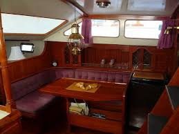 Sailboat Interior Ideas The Hardin 45 Sailboat Bluewaterboats Org