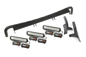 Jeep Wrangler Led Light Bar by Windshield Led Light Bar Kit 07 17 Jeep Wrangler Jk Jeepmania