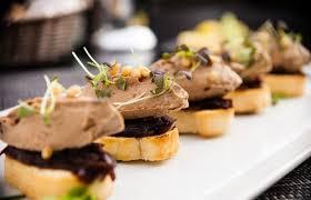 idée de canapé canapés de foie gras caramélisé recette marcia tack