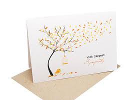 condolence cards sympathy cards etsy