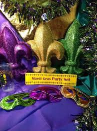mardi gras throw cups 54 pcs mardi gras party set masks throw cups garland fluer de lis
