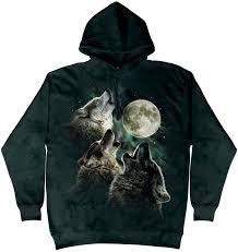 three wolf moon hoodie and shirts made earth