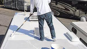 what type of paint to use on rv cabinets can i use flex seal on my rv roof rvblogger