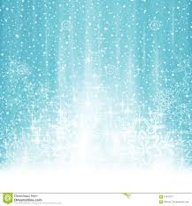 abstract white blue winter background with snowfall