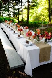 How To Decorate A Backyard Wedding Best 25 Long Table Decorations Ideas On Pinterest Long Wedding