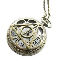 necklace watch images Harry potter pocket watch necklace luna lovegood pocket watch jpg