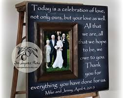 wedding gift ideas for parents wedding gift parents etsy
