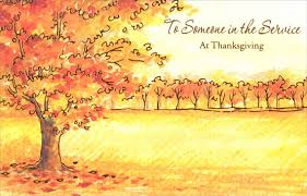 autumn trees thanksgiving card by freedom greetings