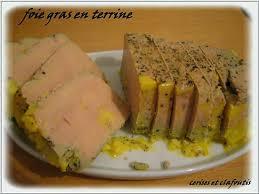 cuisiner du foie gras recette de foie gras mi cuit en terrine
