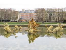 Versailles Garden Map The Gardens At Versailles Paris