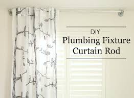 Curtain Rod Ideas Decor Diy Plumbing Fixture Curtain Rod Project Nursery