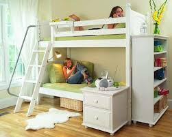 twin low loft bed with desk u2014 modern storage twin bed design
