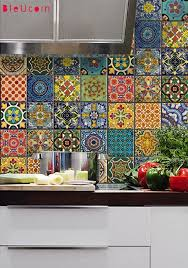 Colorful Kitchen Backsplash by 17 Colorful Kitchen Designs That Would Cheer Up Any Home