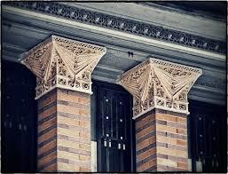 frank lloyd wright s heller house exterior cast plaster ornament