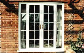 French Door Designs Patio by Appealing Modern French Doors Design Come With Brown Laminated