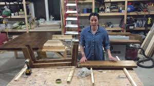 diy how to make an entry bench for beginners youtube