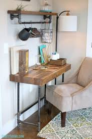 impressive office desk with overhead storage home decorating ideas