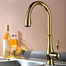 robinet cuisine moderne robinet de cuisine doré style moderne doté d une seule poignée fini