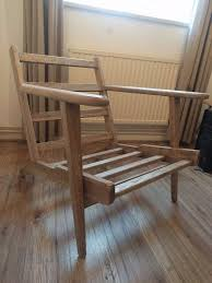 Armchair Frame Karla Scandinavian Armchair Frame Oak In Kingston London