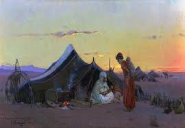 paint places is there truth to the bedouin legend of the great river in the