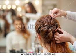 long hair style showing ears hairstyle stock images royalty free images vectors shutterstock