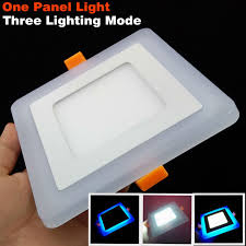 new design square led panel downlight 5w 9w 16w 24w 3 model led