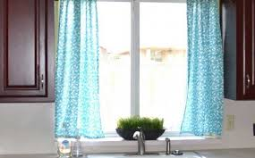 Checkered Kitchen Curtains Kitchen Beautiful Blue And Green Kitchen Curtains 10 Stylish