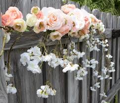 wedding arch gazebo wedding arch garland with cascading blossoms orchids roses silk