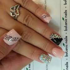 Rhinestone Nail Design Ideas Best 25 Cheetah Nail Designs Ideas On Pinterest Cheetah Nails