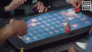 play table board game console nowthis future this electronic table is also a board game