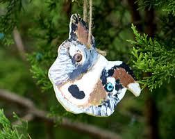 sheltie ornament ceramic shetland sheepdog ornament collie