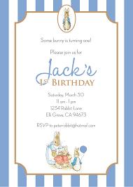 rabbit invitation rabbit birthday invitation boy personalized